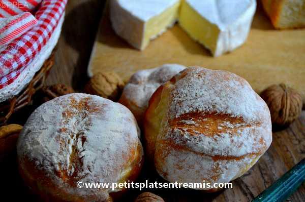 recette petits pains cocotte