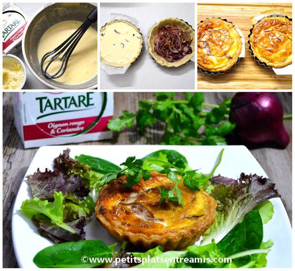 Tartelette-de-tartare-Oignon-rouge-&-Coriandre