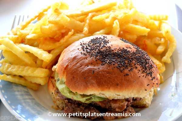 burger au foie gras recette