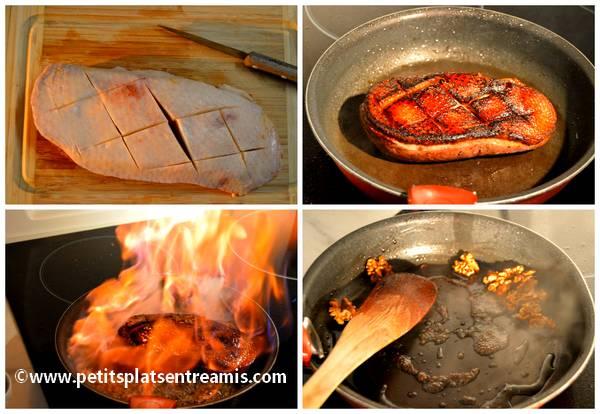 cuisson magret de canard