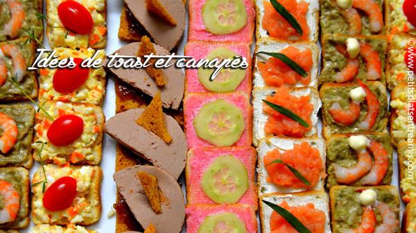 Idees De Toast Et Canapes Aperitif Petits Plats Entre Amis