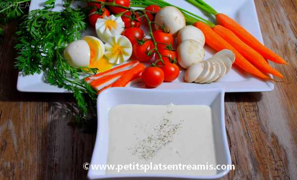mayonnaise chantilly recette