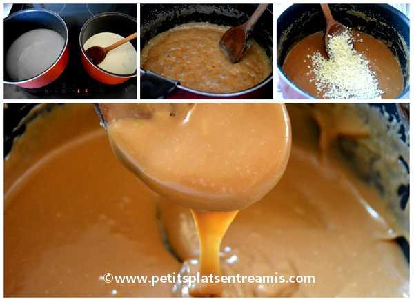 préparation ganache caramel beurre salé
