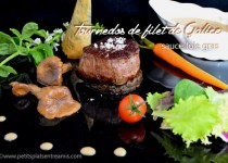 Tournedos de filet de Galice sauce foie gras