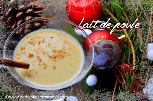 Lait de poule: la recette de Noël