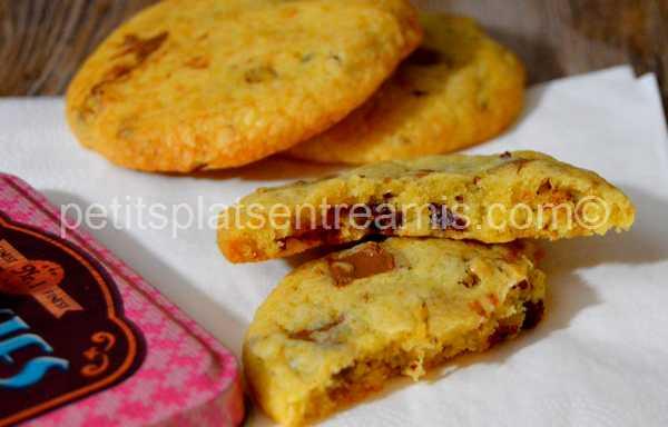 bouchée cookies-chocolat-au-lait-et-noix-de-pécan
