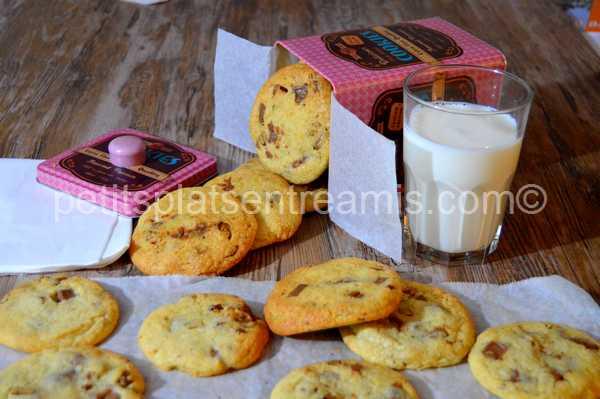 cookies-chocolat-au-lait-et-noix-de-pécan recette