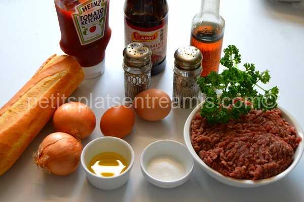 ingrédients pain-farci-au-boeuf-sauce-hoisin