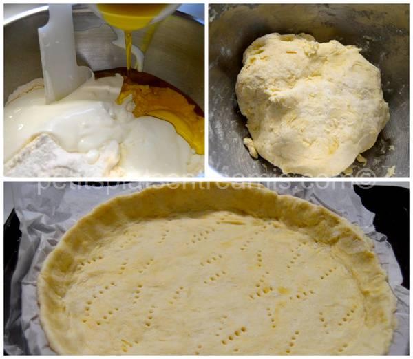 préparation pâte pour quiche aux brocolis