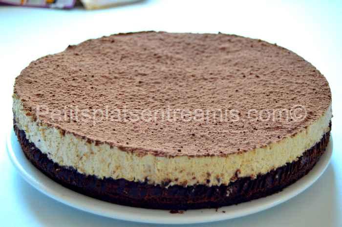 Gâteau de mousses chocolat café recette