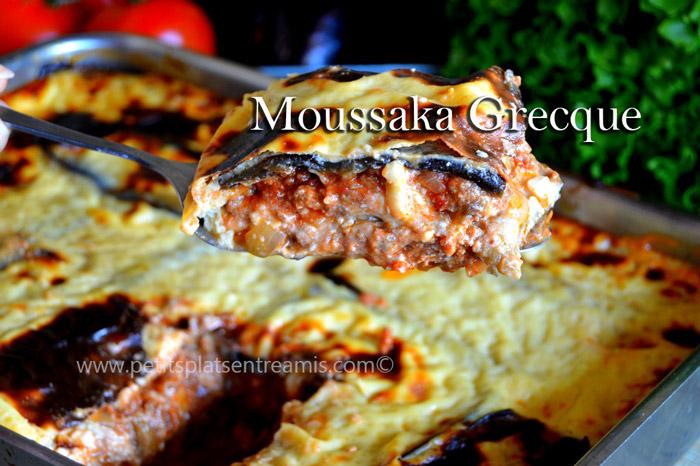 Vraie moussaka grecque