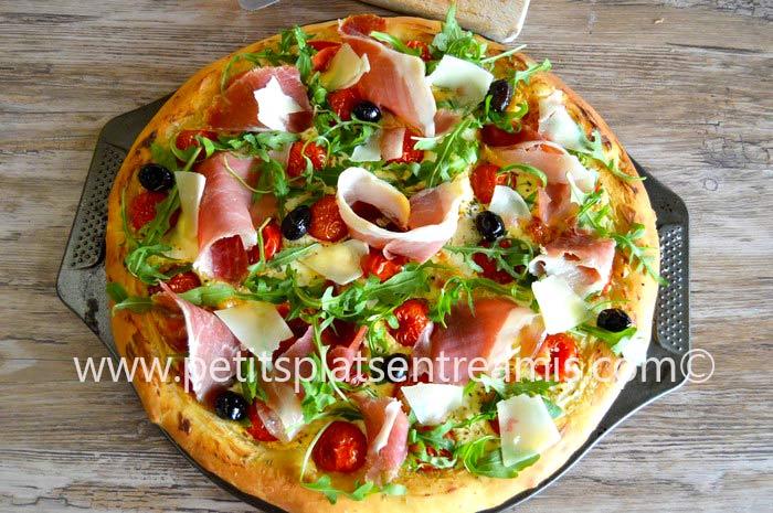 Pizza-au-jambon-de-Bayonne-recette