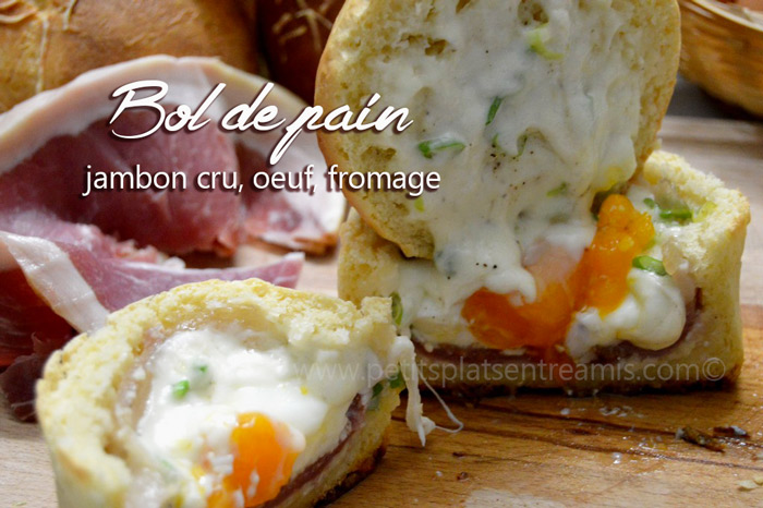bol-de-pain,-jambon-cru-oeuf-fromage