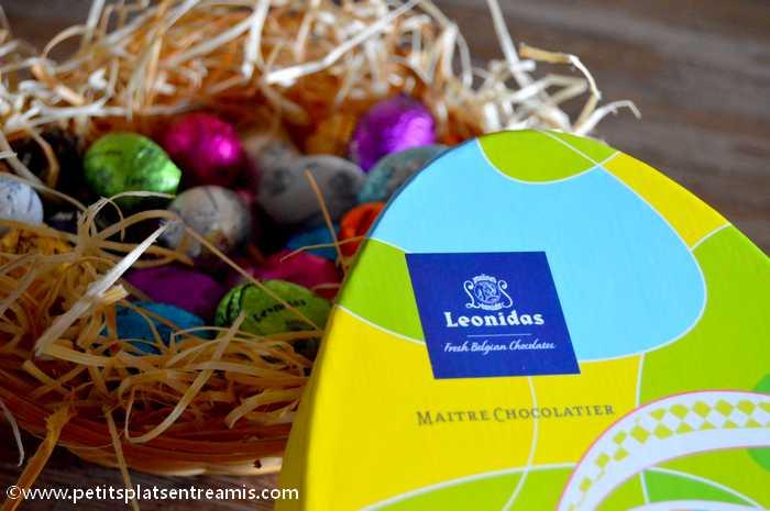 fêtes de Pâques hautes en couleurs avec Leonidas