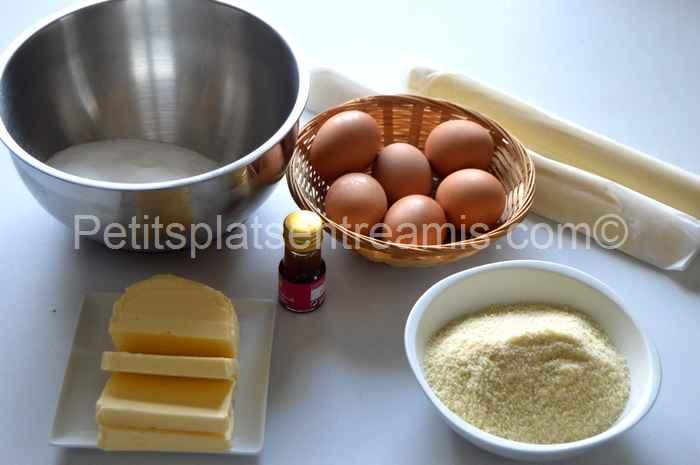ingrédients du pithiviers