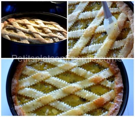 nappage tarte pommes kiwis