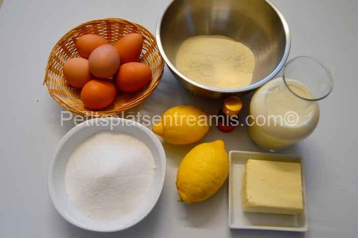 Ingrédients pour gâteau-magique-au-citron