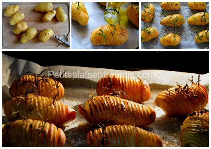 cuisson des pommes de terre suédoises aux herbes
