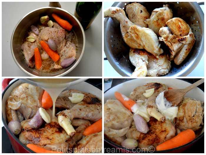 cuisson poulet au cidre