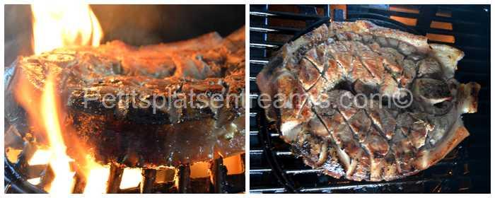 cuisson rouelle de porc au barbecue