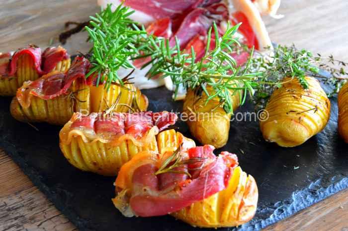 pommes de terre suédoises au jambon Noir de Bigorre recette