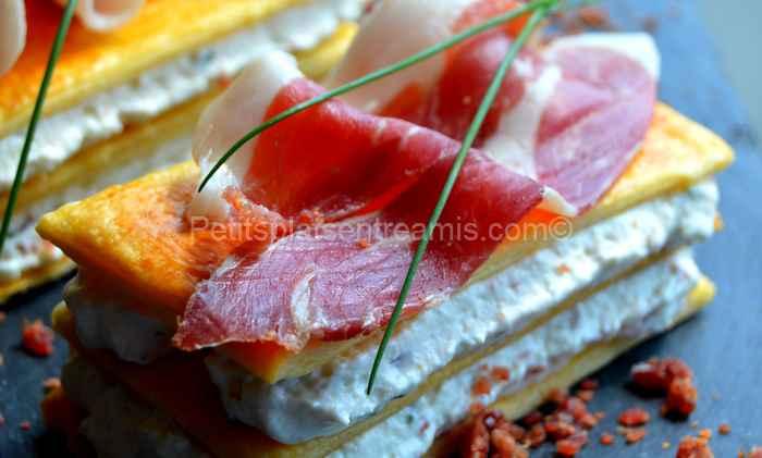 recette mille-feuille-au-jambon-Noir-de-Bigorre