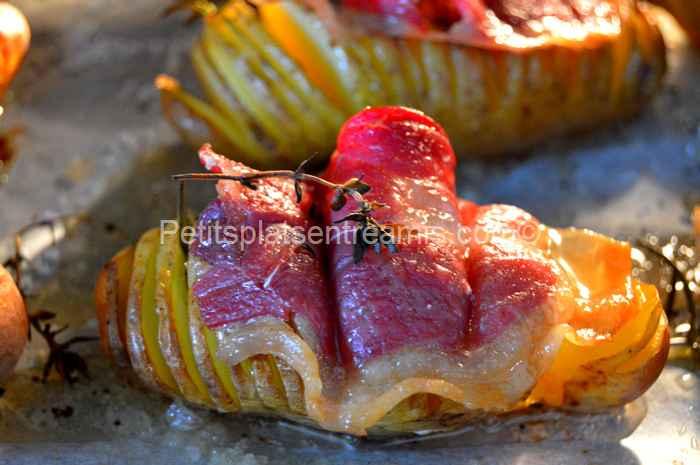 recette pommes de terre suédoises au jambon Noir de Bigorre