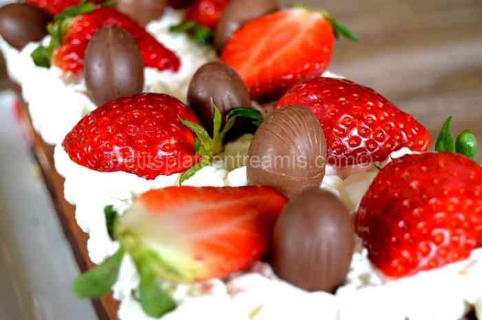 recette terrine aux chocolats et caramel