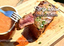 Strip steak sauce à l'échalote