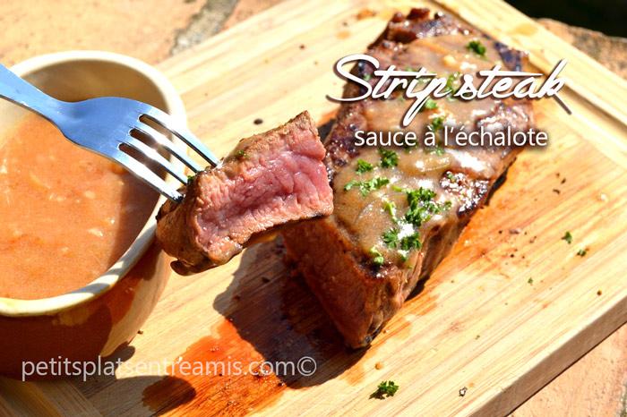 strip-steak-sauce-à-l'échalote