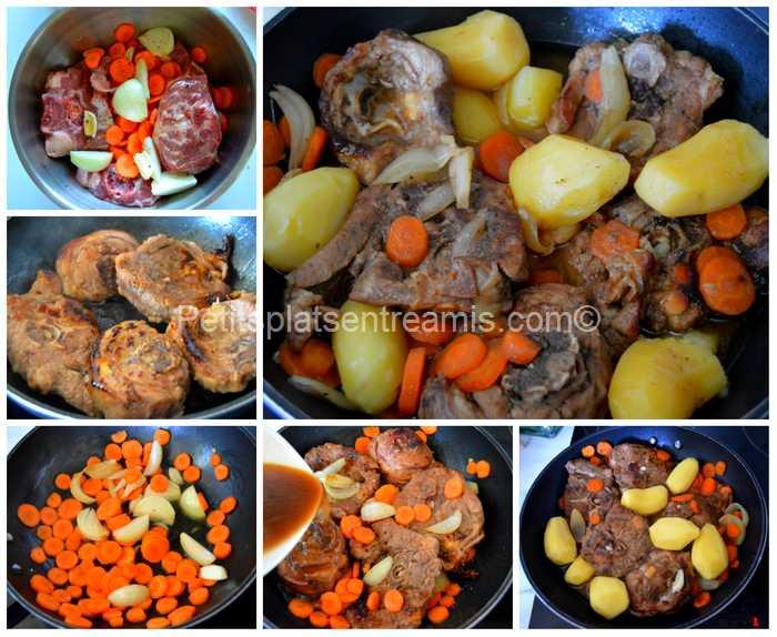 cuisson collier d'agneau au sirop d'érable