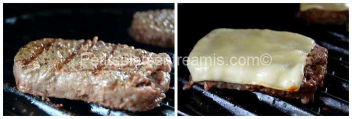 cuisson viande de boeuf pour burger
