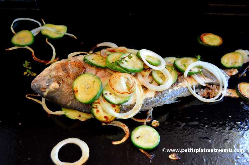 poisson à la plancha