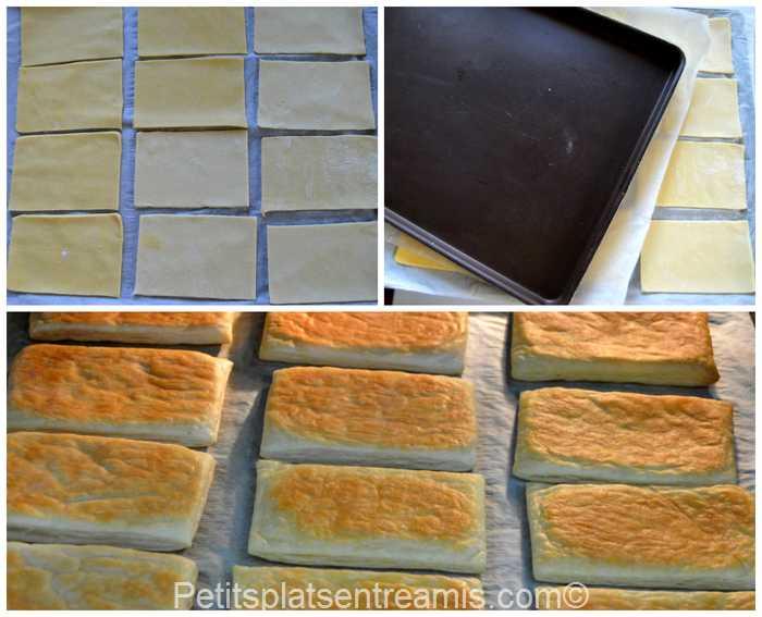 préparation pâte feuilletée pour mille feuille