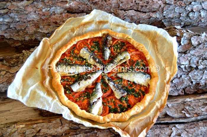 Tarte aux sardine recette