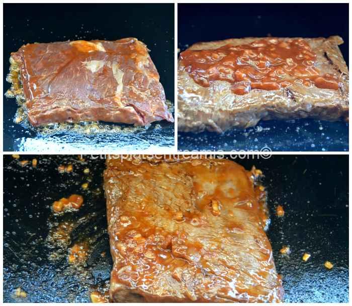 cuisson pavé de bavette d'aloyau