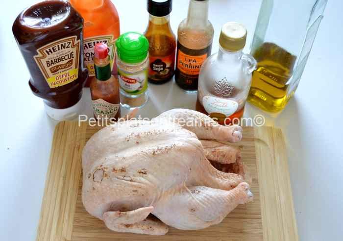ingrédients poulet-en-crapaudine-à-la-plancha
