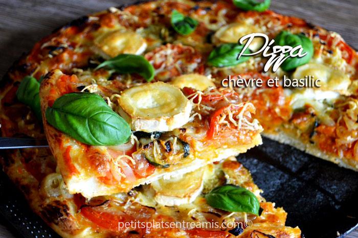 pizza-au-chèvre-et-basilic