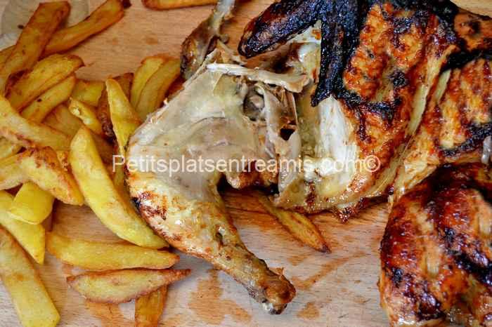 poulet-en-crapaudine-à-la-plancha recette