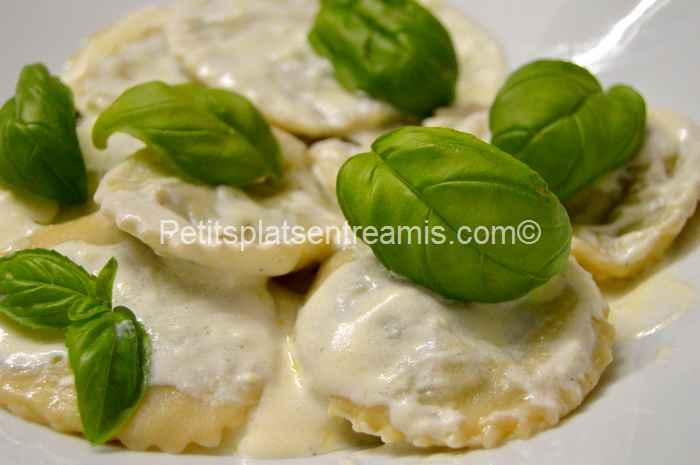 recette ravioles épinards ricotta