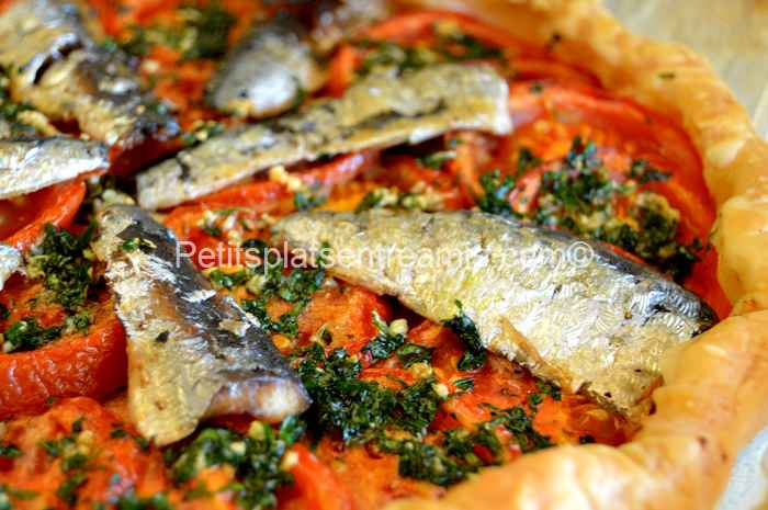 recette tarte aux sardines