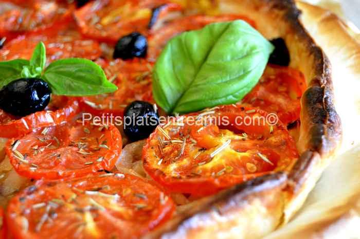 recette tarte thon et tomates