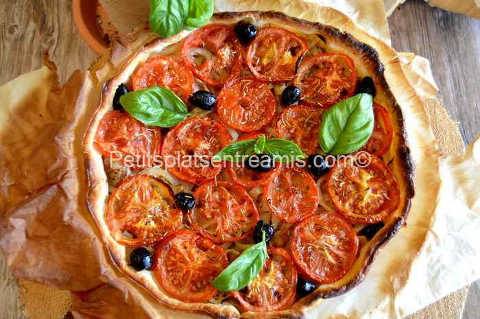 tarte thon et tomates recette
