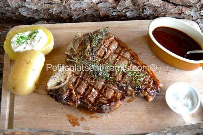 T-bone sauce barbecue recette