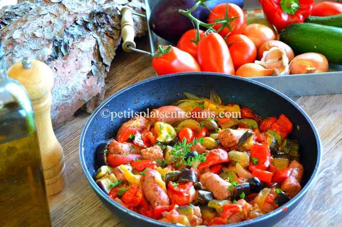 ragoût de saucisses à la provençale recette
