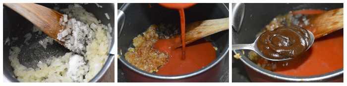 sauce pour capellini aux boulettes de viande