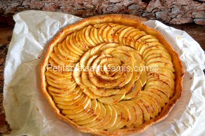 tarte aux pommes grand-mère recette