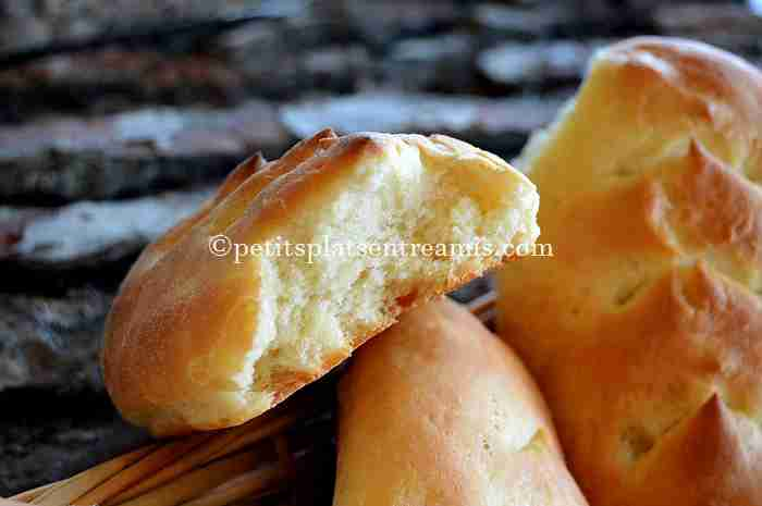 bouchée de petits-pains-à-l'érable