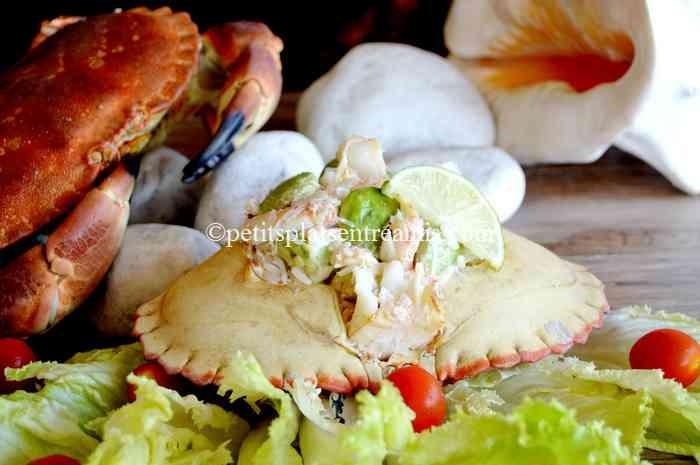crabe-à-l'avocat recette