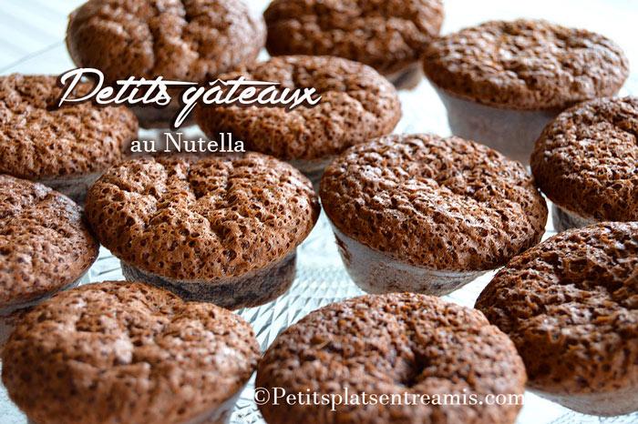 Petits gâteaux au Nutella